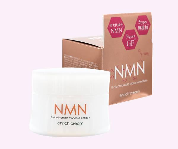 贅沢なうるおいでお肌を包み込む NMNエンリッチクリーム